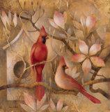 Elegance in Red I Posters par Elaine Vollherbst-Lane