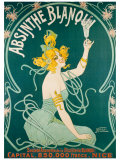 Absinthe Blanqui Giclee Print by  Nouer