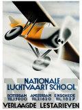 Nationale Luchtvaart School Giclee Print