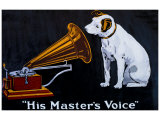 His Master's Voice Giclée-vedos