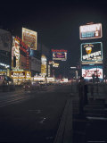 Time Square, New York, c.1946 Lámina fotográfica