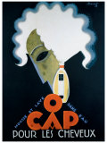 O Cap Giclee Print by Charles Loupot