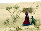India Womens Day, Khushlawa, India Photographic Print by Siddharth Darshan Kumar