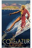 Cote d'Azur Corse Impressão giclée por E. Ter