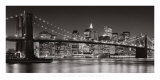 Brooklyn Bridge, 2007 Print by Henri Silberman