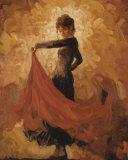 Flamenco I Kunstdruck von Mark Spain