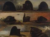 Napoleon's Hats Giclée-Druck von Charles Von Steuben