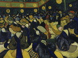 The Dancehall, c.1888 Giclee-trykk av Vincent van Gogh