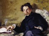 Stephane Mallarme Giclee Print by Edouard Manet