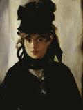 Berthe Morisot, c.1872 Reproduction procédé giclée par Edouard Manet