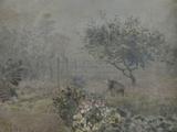 Fog in Voisins, c.1874 Giclee Print by Alfred Sisley