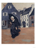 The Rainshower, c.1893 Gicléetryck av Paul Serusier