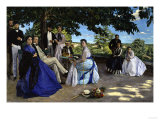 Family Portrait, c.1867 Giclee Print by Frederic Bazille