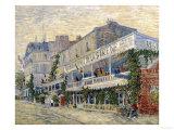 The Restaurant de la Sirene in Asnieres, c.1887 Impressão giclée por Vincent van Gogh