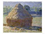 Haystack, Late Summer, c.1891 Giclée-Druck von Claude Monet