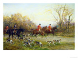 The Start of the Hunt Giclee Print by Heywood Hardy