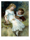 Sweethearts Giclee Print by Frederick Morgan