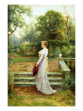 In the Garden Giclee Print by Ernest Walbourn