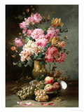The Flowers and Fruits of Summer Giclée-tryk af Alfred Godchaux