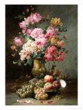 The Flowers and Fruits of Summer Lámina giclée por Alfred Godchaux