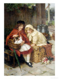Pets Giclee Print by George S. Knowles
