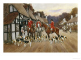 Refreshments at the Inn Giclée-tryk af Warren Williams