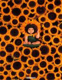Sunflower Wall Affiches par Anne Geddes