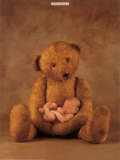 Campbell with Bear Affiches par Anne Geddes