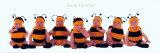 Bumblebee Babies Plakater av Anne Geddes