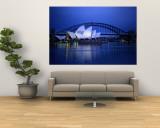 Harbor and Sydney Opera House Vægplakat af Sam Abell