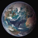 Planet Earth Western Hemisphere, NASA Satellite Composite Fotografisk trykk av Stocktrek Images,