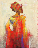 Ashanti Plakat av Karen Dupré