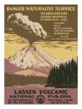 Lassen Volcanic National Park, c.1938 Giclee-trykk
