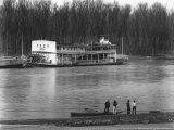 Ferry and River men, Vicksburg, Mississippi, c.1936 Foto af Walker Evans