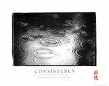 Consistency: Raindrops Kunstdrucke