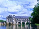 16th Century Castle on the River Cher, Chateau de Chenonceau, Loire Valley, France Fotografisk trykk av Jim Zuckerman