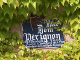 Street Sign Rue Dom Perignon, Inventor of Champagne Method, Vallee De La Marne, Ardennes, France Photographic Print by Per Karlsson