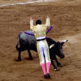Bullfight or Fiesta Brava, San Luis Potosi, Mexico Lámina fotográfica por Russell Gordon
