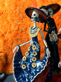 Day of the Dead Offering in Museum of Fine Mexican Art, Mexico Fotografie-Druck von Russell Gordon