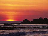 Rialto Beach at Dusk, Olympic National Park, Washington, USA Photographic Print by Charles Sleicher