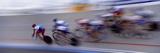 Bike Racers at Velodrome Photographic Print by Nancy & Steve Ross