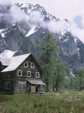 The Chalet in the Enchanted Valley, Olympic National Park, Washington, USA Photographic Print by Charles Sleicher