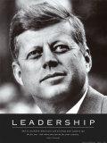 Liderança: JFK em inglês Pôsteres
