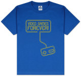 Youth: Novelty - Video Games Forever T-shirts