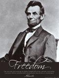 Freiheit: Abraham Lincoln Kunstdrucke