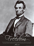 Freedom: Abraham Lincoln Stampe