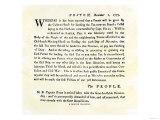Handbill Warning Boston Patriots against Buying Tea, December 2, 1773 Giclee Print
