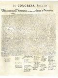 American Declaration of Independence, c.1776 Giclée-Druck