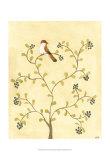 Berry Bird I Poster by Virginia A. Roper