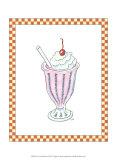 Ice Cream Parlor II Art by Virginia A. Roper